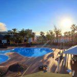 piscina hacia el hotel 2